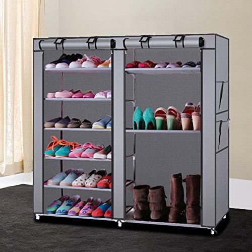 YIERMA Zapatero multifuncional, almacenamiento de zapatos súper grande, zapatero doméstico para botas de lluvia, tacones altos y zapatos de trabajo.
