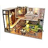 LINAG Puppenhaus Häuser Minipuppen Mini-Szene Zuhause Einrichtung Spielzeug Möbel DIY Village...