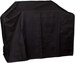 YLYWCG BBQ Cover Thicken Oxford Cloth, Fully Waterproof, UV & Fade & Rip Resistant BBQ Grill Cover (Color : Black, Size : 14161113cm)