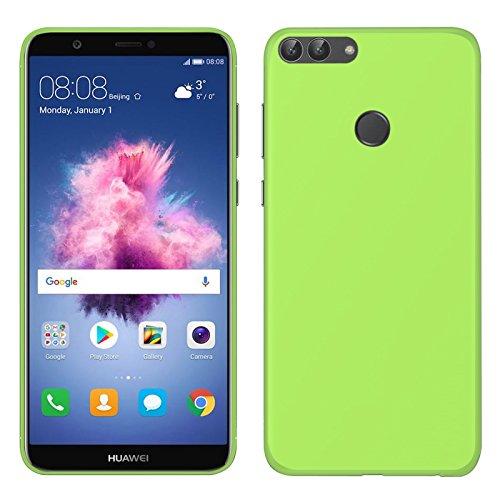 TBOC® Grün Gel TPU Hülle für Huawei Y7 Prime 2018 - Y7 Pro 2018 - Honor 7C (5.99 Zoll) Superdünn Flexibel Silikonhülle