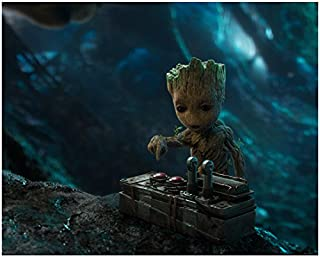 Baby Groot Ready to Push the Button Guardians of the Galaxy 8 x 10 Inch Photo