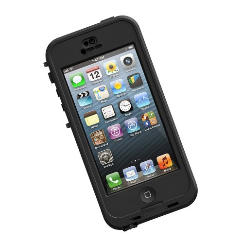 LifeProof Nüüd wasserdichte Schutzhülle für Apple iPhone 5c, schwarz
