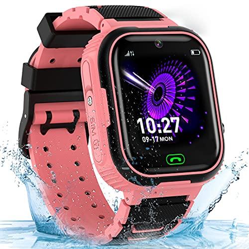 Smart Watch for Kids Girls Boys, Waterproof Kids Smartwatch w GPS...