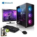 Pack Gaming - Megaport PC AMD Ryzen 7 2700X • 24' ASUS Full-HD • Teclado y ratón Gaming...