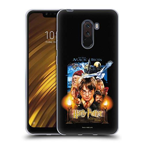 Head Case Designs Offizielle Harry Potter Poster 1 Sorcerer's Stone II Soft Gel Huelle kompatibel mit Xiaomi Pocophone F1 / Poco F1