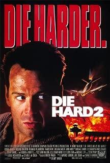 DIE HARD 2 (Harder) - 27X40 D/S Original Movie Poster One Sheet 1990 Bruce Willis