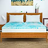 Milemont Mattress Topper Queen, Memory Foam Mattress Topper for Queen Size Bed, 3 Inch