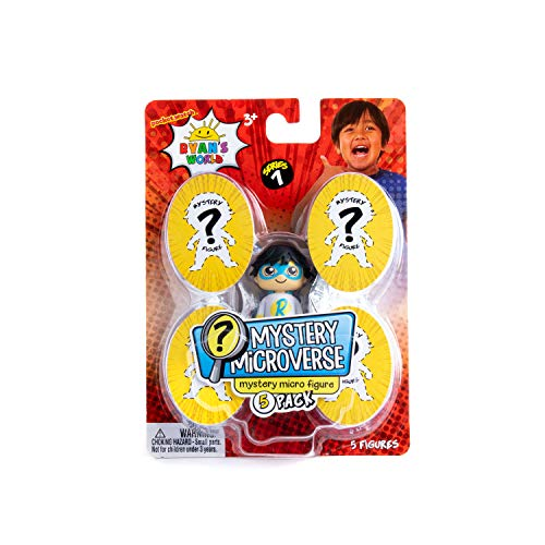 Ryan/'s World Mystery Mini Oeufs Inc Squishy Figure Bouncy Ball Stickers /& mastic