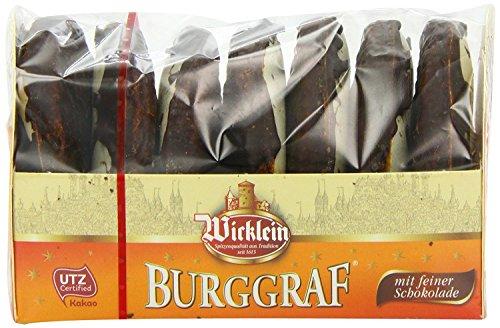 Wicklein Burggraf Lebkuchen mit feiner Schokolade (2 x 200g)