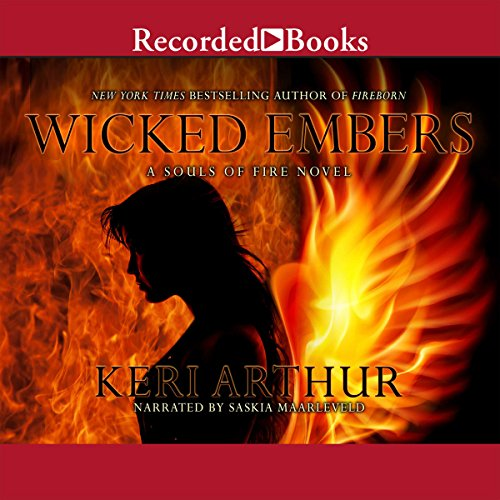 Wicked Embers audiobook cover art
