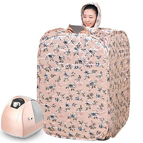 Productos para el hogar Cama Plegable Fácil Almacenamiento Kit de Sauna de Vapor para el hogar para la recuperación Pérdida de Peso Relajación Plegable Fácil de Transportar Peso Desintoxicación del
