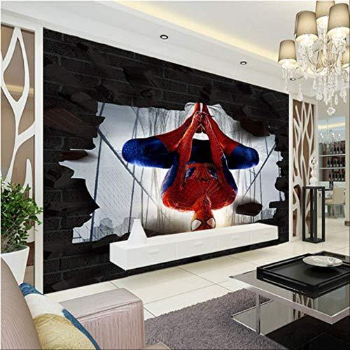 Fangxueping Spider-Man 3D-fotobehang, muurschildering Breite350cm s Höhe250cm Pro