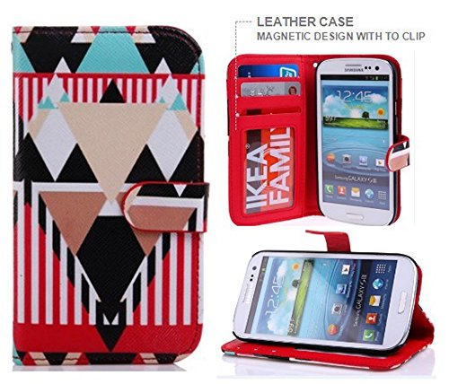 Samsung Galaxy S3 Case,Phone Cases for Samsung Galaxy s3, Samsung Galaxy S3 Leather Case,Samsung Galaxy S3 Wallet Case,Nakeey Wallet Leather Carrying Case Cover for Samsung Galaxy S3 SS07