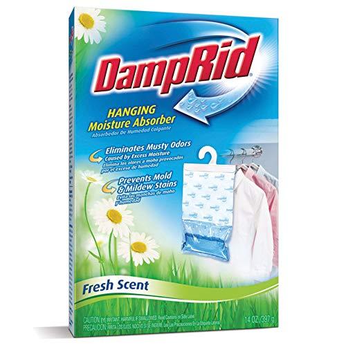 DampRid FG80 Hanging Moisture Absorber Fresh Scent 14 oz (Pack of 6)