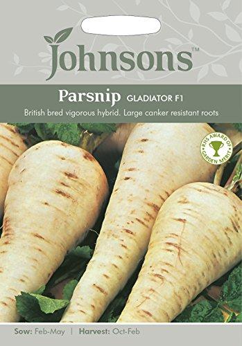 Johnsons 16937 Vegetable Seeds, Parsnip Gladiator F1