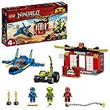 LEGO Ninjago BattagliasulloStormFighter, Giocattoli della Serie Maestri dello Spinjitzu, 71703