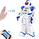 BEIWO Smart RC Robots for Kids, Intelligent Programmable Robot Toy, Remote Control Robot for Boy Toys, Dancing, Singing, Talking, Gesture Sensing Robotic Toys Boys Girls Kids Gift