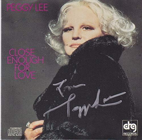 Peggy Lee Award CD Luxury signed