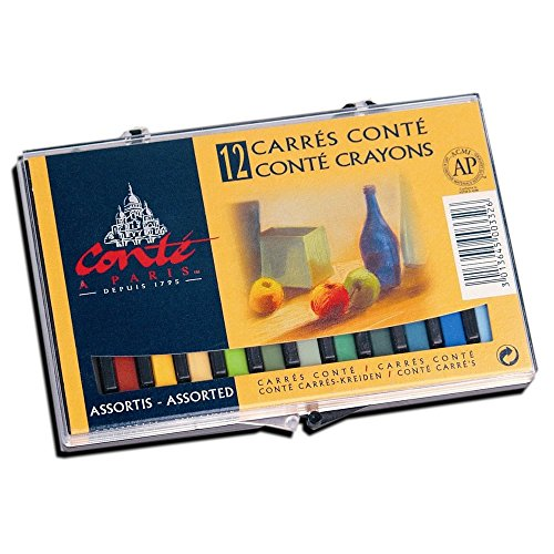 Conté A Paris 12 Colour Chalk Pastel Crayon Assortment Maryland