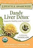 Lifestyle Awareness Teas Caffeine Free Tea, Dandy Liver Detox, 6 Count