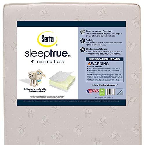 Serta SleepTrue Mini Crib Mattress