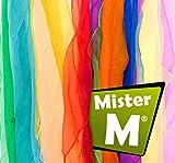 12 Tücher  Geprüft  In der EU Zusammengestellt  Rhythmik, Jonglier, Tanz Tücher  mit GRATIS...