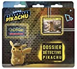 Pokémon - Collection Detective Pikachu Dossier Tri Pack de 3 boosters - Version Francaise