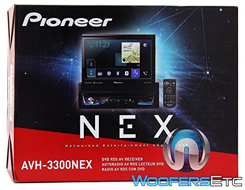 Pioneer avh-3300nex 17,8 cm Flip Out DVD-Receiver mit CarPlay, Android Auto- und Bluetooth