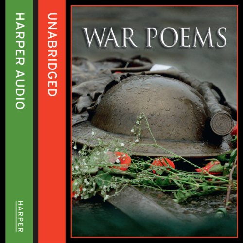 War Poems audiobook cover art
