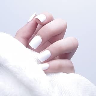 Best short fake nails white Reviews