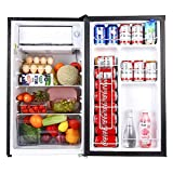 Compact Refrigerator, TACKLIFE Mini Fridge with Freezer 3.2 Cu.ft Low-frost, Energy Star, 5...