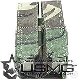 Rap4 USMG 9mm .45 Pistol Double Magazine Pouch (ASMP) -