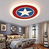 Modern LED Deckenleuchte Kreative Pentagram form Kinderlampe Junge Kinderzimmer Deckenlampe Acryl...