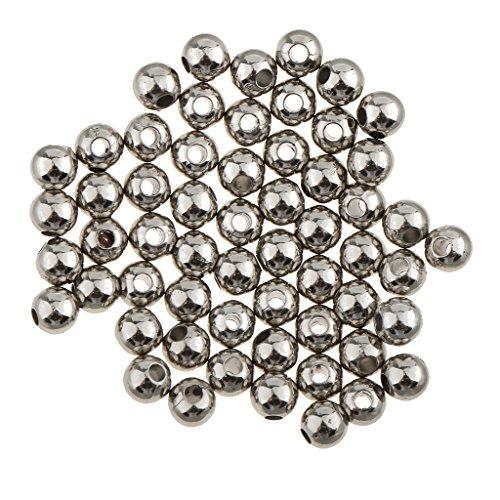 B Blesiya - 100 Cuentas de Metal para Pulsera, Collar, fabricación de Joyas