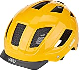 ABUS HYBAN 2.0 Fahrradhelm, Unisex Adulto, Icon Yellow, L