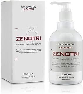شامپو ضد شوره سر پوست ZENOTRI صفر / محلول ژنتیکی مراقبت از مو / ضد خارش ، پوست سر سبوره