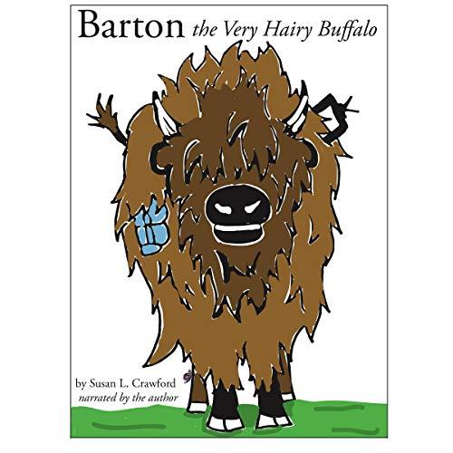 Barton the Very Hairy Buffalo audiobook cover art