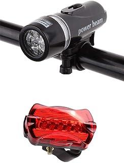 مصباح خلفي للدراجة SKY-TOUCH للدراجة بضوء LED وشعاع خلفي من الخلف، 18.7 × 5.3 × 1.8 بوصة؛ 90 جرامًا