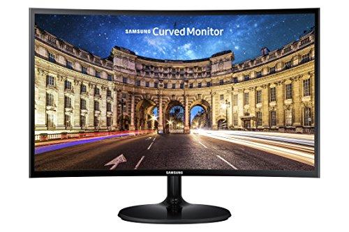 """Monitor LED Curvo Samsung LC24F390FHL 24"""" Gamer"""