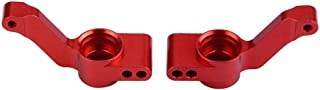 Soporte de Cubo de Eje Trasero de aleación de Aluminio RC para Traxxas Slash 4X4 1/10 Scale Car(Rojo)