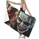 hoist Joker y Harley Quinn Microfibra toallas de baño 70x140 cm toalla de playa grandes toallas deportivas camping accesorios
