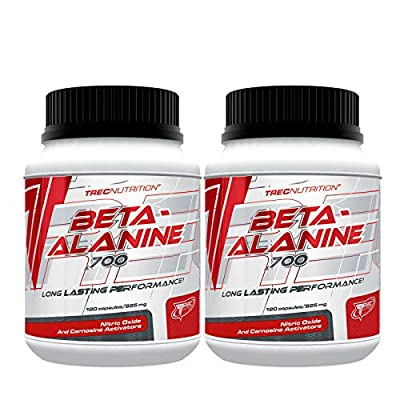 TREC Nutrition Beta-Alanine 240 Capsules | Energy & Endurance | Pre-Workout | Stamina | Sport Supplement