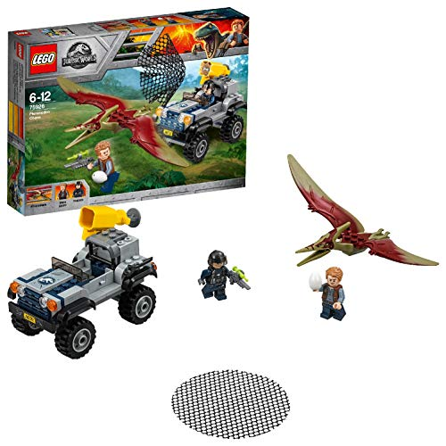 LEGO Jurassic World - La course-poursuite du Ptéranodon - 75926 - Jeu de Construction