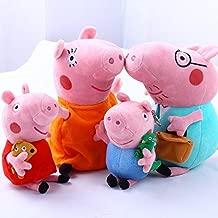 4Pcs Piggy Pig Family Doll Stuffed Toy 12
