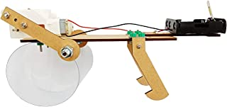 STEAM Education Kit - Dancing Mouse DIY Wooden Bionic Robot for Kids Age 8-12