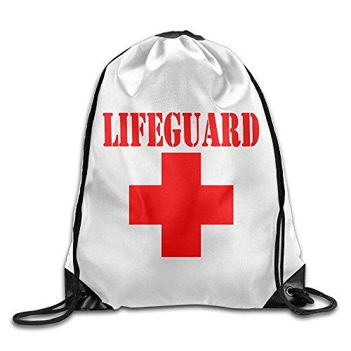 Lifeguard Gear - Mochila de viaje, diseño de logotipo con cordón