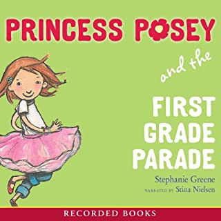 Princess Posey and the First Grade Parade audiobook cover art