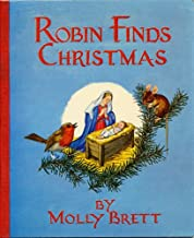 ROBIN FINDS CHRISTMAS by Molly Brett (1961 Softcover 5.5 x 7 inches, 32 pages Published by The Medici Society, London UK. Story of how Robin Redbreast learns about Christmas)
