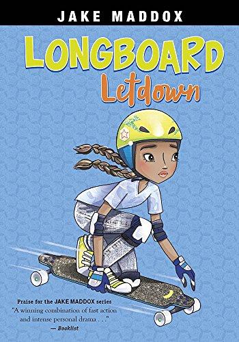 Longboard Letdown (Jake Maddox Girl Sports Stories)