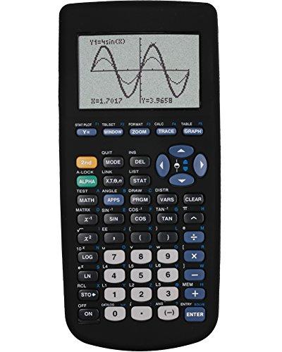 Guerrilla Silicone Case for Texas Instruments TI-83 Plus Graphing Calculator, Black Photo #5